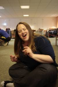 Happy me- singing!